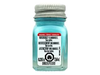 craft & hobbies: Testors Enamel Paint Gloss Turquoise .25oz