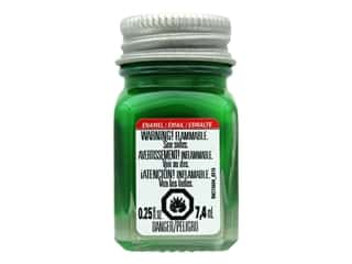 Testors Enamel Paint Gloss Green .25oz