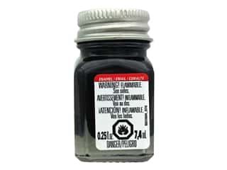 Testors Enamel Paint Gloss Black .25oz