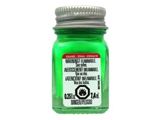 Testors Enamel Paint Fluorescent Green .25oz