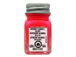 craft & hobbies: Testors Enamel Paint Fluorescent Pink .25oz