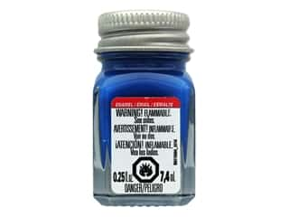 Testors Enamel Paint Fluorescent Blue .25oz