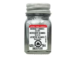 craft & hobbies: Testors Enamel Paint Flat Aluminum .25oz