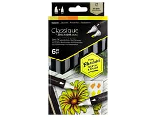 Crafter's Companion Spectrum Noir Classique Alcohol Marker Yellows 6pc