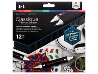 Crafter's Companion Spectrum Noir Classique Alcohol Marker Jewel 12pc