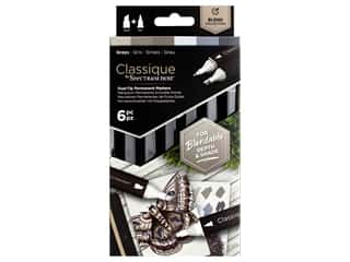 Crafter's Companion Spectrum Noir Classique Alcohol Marker Greys 6pc