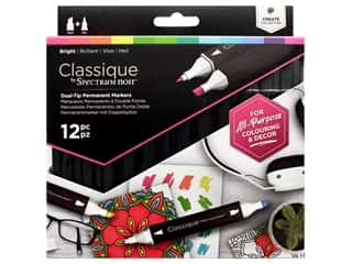 Crafter's Companion Spectrum Noir Classique Alcohol Marker Bright 12pc