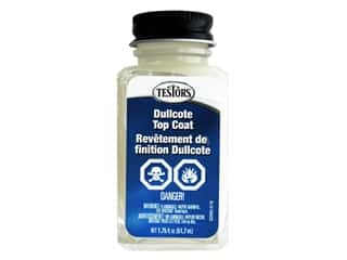 craft & hobbies: Testors Accessories Lacquer Top Coat Liquid Dullcote 1.75oz