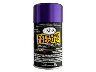 craft & hobbies: Testors Extreme Lacquer Spray Purple-licious 3oz