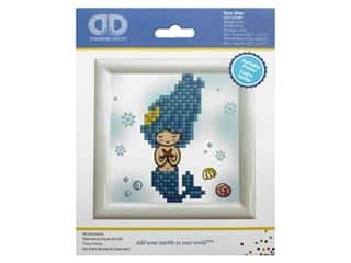 Diamond Dotz Facet Art Kit Beginner With Frame Sea Star