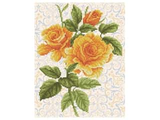 Diamond Dotz Facet Art Kit Intermediate Yellow Rose Bouquet