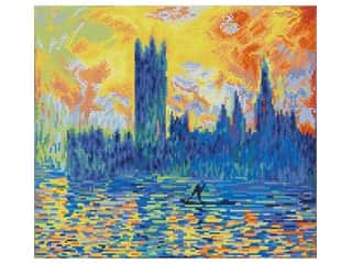 Diamond Dotz Facet Art Kit Intermediate London Parliament in Winter (apres Monet)