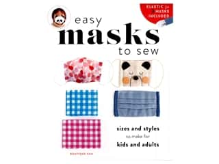Zakka Workshop Easy Masks To Sew Book
