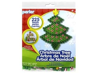 projects & kits: Perler Fused Bead Kit Trial Christmas Tree
