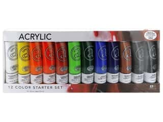 Art Advantage Acrylic Paint Set 2.5 oz. 12 Color