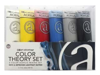 Art Advantage Acrylic Paint Set 6 pc. Color Theory Set