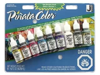 Jacquard Pinata Color Alcohol Ink Exciter Pack Canada Compliant 9 pc.