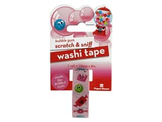 Paper House Washi Tape Scratch & Sniff Bubble Gum