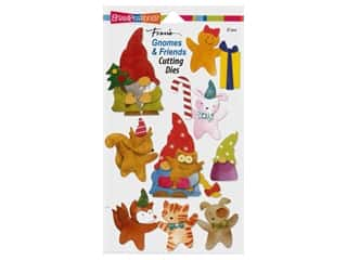 Stampendous Die Fran's Gnomes And Friends