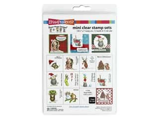 Stampendous Clear Stamp Mini Set House Mouse Holiday