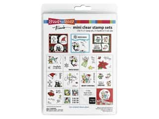 Stampendous Clear Stamp Mini Fran's Holiday