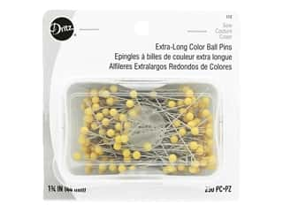 Dritz Extra Long Color Ball Pins Size 28 250 pc.