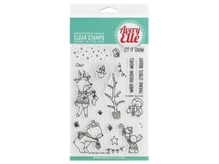 Avery Elle Clear Stamp O Tiny Tree