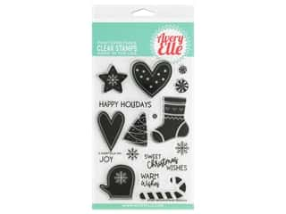 Avery Elle Clear Stamp Christmas Cookies
