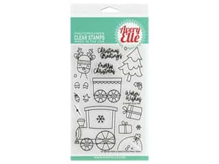 Avery Elle Clear Stamp Peek