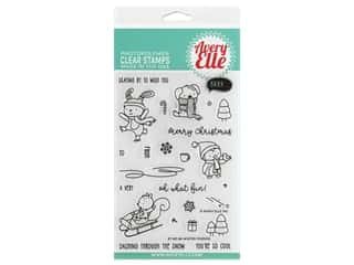 Avery Elle Clear Stamp Winter Friends