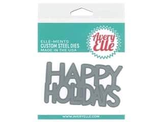 Avery Elle Die Elle-Ments Happy Holidays