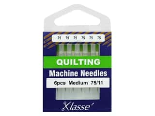 Klasse Machine Needle Quilting Size 75/11 6pc
