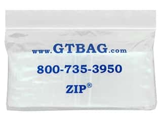 craft & hobbies: GTZIP Plain 2 Mil Zip Bags 2 x 2 in. Clear 100 pc.