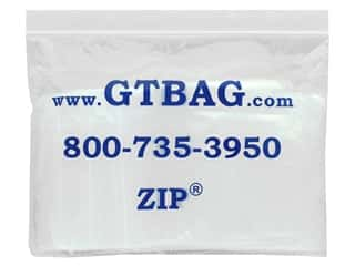 craft & hobbies: GTZIP Plain 2 Mil Zip Bags 4 x 4 in. Clear 100 pc.
