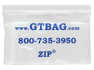craft & hobbies: GTZIP Plain 2 Mil Zip Bags 4 x 6 in. Clear 100 pc.