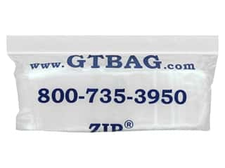 craft & hobbies: GTZIP Plain 2 Mil Zip Bags 2 x 4 in. Clear 100 pc.