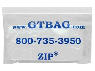 craft & hobbies: GTZIP Plain 2 Mil Zip Bags 3 x 3 in. Clear 100 pc.