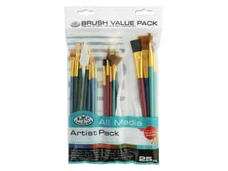 Royal Brush Set Value 25pc All Media