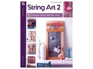 books & patterns: Leisure Arts String Art 2 Book