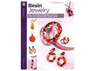 books & patterns: Leisure Arts Resin Jewelry Book