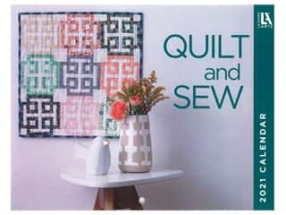 Sewing & Quilting: Leisure Arts Quilt & Sew Wall Calendar 2021
