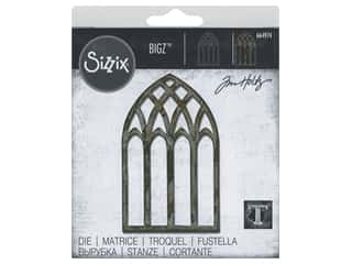 Sizzix Dies Tim Holtz Bigz Cathedral Window