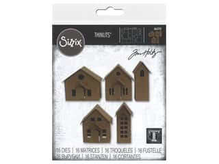 Sizzix Dies Tim Holtz Thinlits Paper Village
