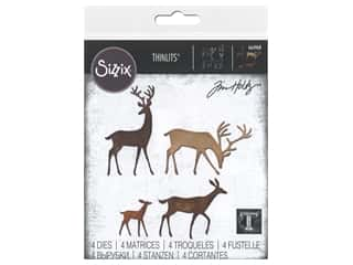 Sizzix Dies Tim Holtz Thinlits Darling Deer