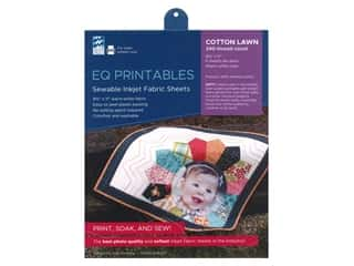 Electric Quilt Printables Inkjet Fabric Sheets - Cotton Lawn 6 pc.