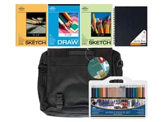 Pro Art Art On The Go! Drawing Travel Kit 41 pc.