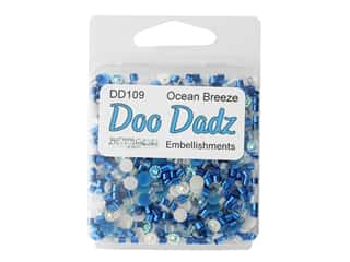 craft & hobbies: Buttons Galore Embellishments DooDadz Ocean Air