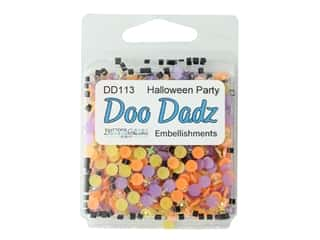 craft & hobbies: Buttons Galore Embellishments DooDadz Halloween Party