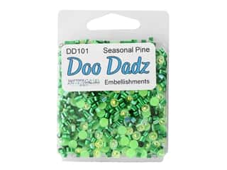 craft & hobbies: Buttons Galore Embellishments DooDadz Seasonal Pine