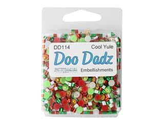 craft & hobbies: Buttons Galore Embellishments DooDadz Cool Yule